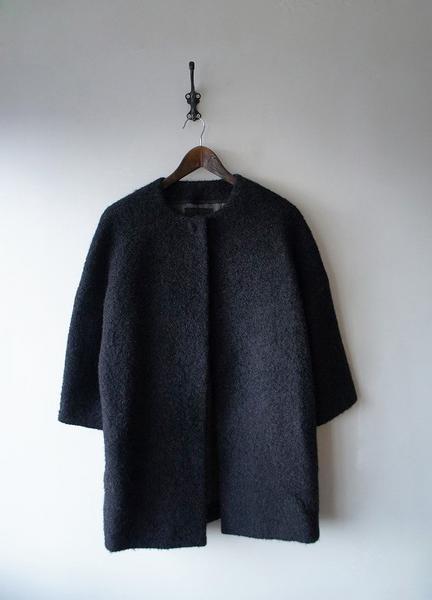 Drawerノーカラーコート