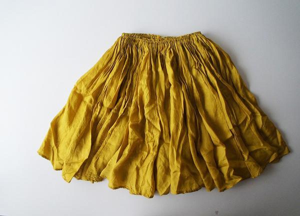 MUVEILギャザーフレアースカート