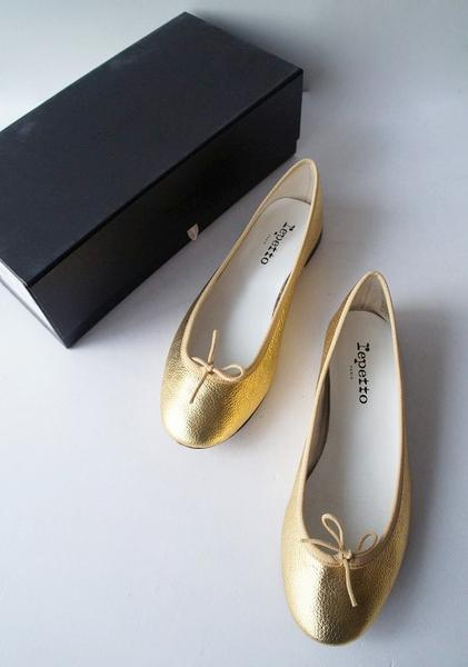 repetto BB V086CR フラットバレエシューズ