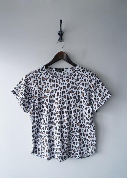 レオパードプリントTシャツ