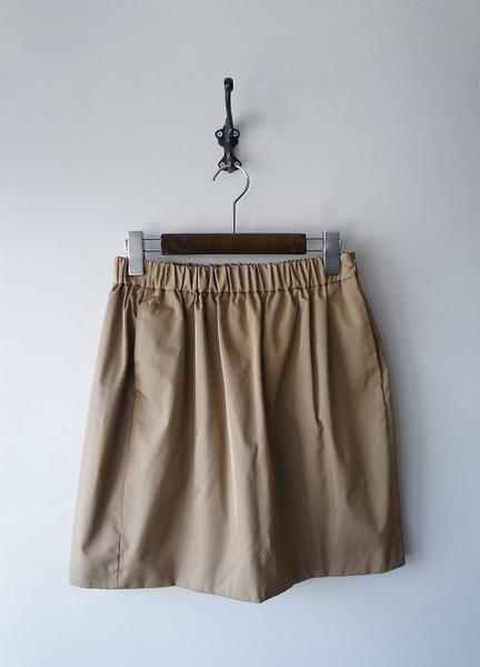 シルクギャザースカート