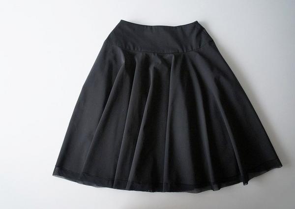 FOXEYストレッチグログランスカート