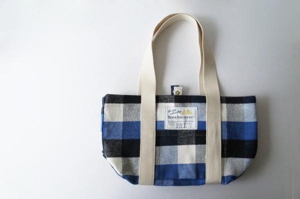 Check Cloth Bag