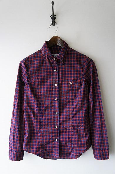 THOMAS MASON タータンチェック 1ポケシャツ