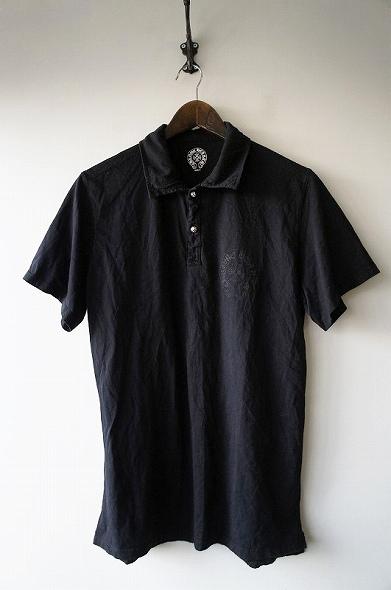 ロゴプリントポロシャツ