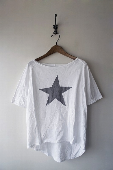 ワンスタープリントTシャツ