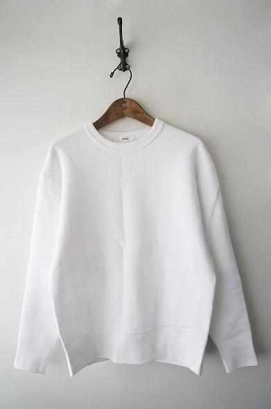 HYKEスウェットロングスリーブシャツ