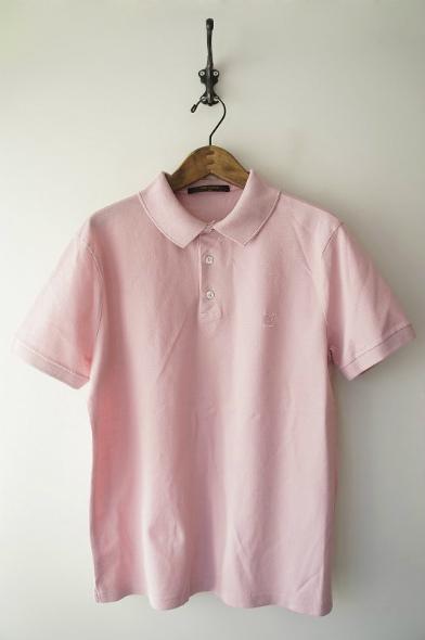 モノグラム刺繍ポロシャツ