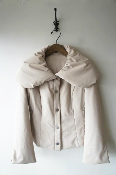 ビッグカラー中綿ジャケット