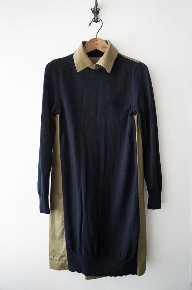 トレンチバックドレス