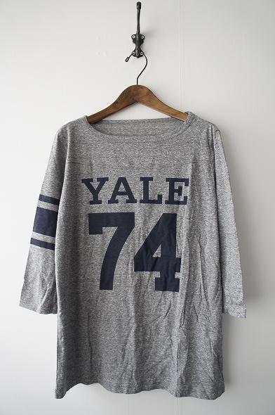 YALE フットボールTシャツ