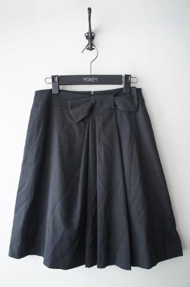 リボンドレープスカート
