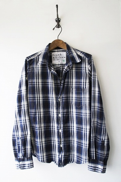 Exclusive BARRY 長袖チェックネルシャツ