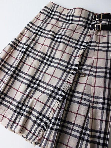 ノバチェックキルトスカート