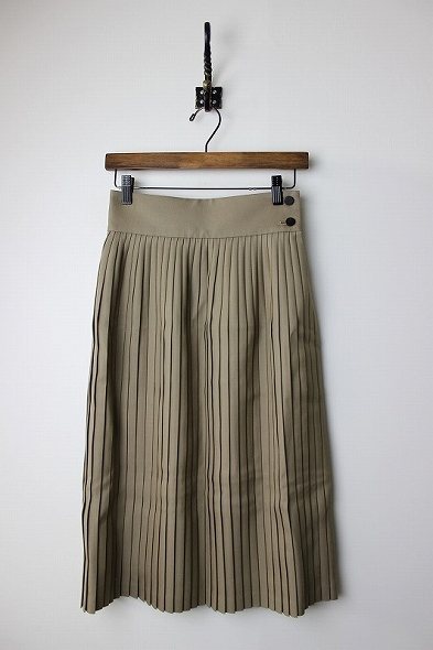 W/M PLEATED SKIRT