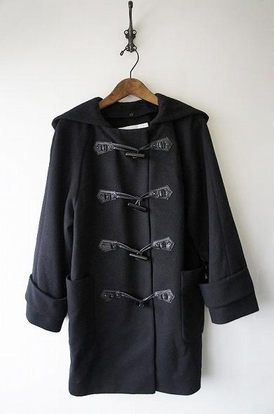 羊毛カシミヤダッフルコート