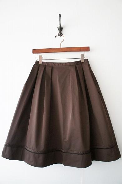 ストレッチグログランスカート