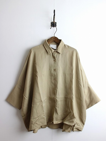 DOLMAN SLEEVE BIG SHIRTS