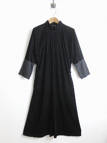 ベルベット ロングチャイナドレス