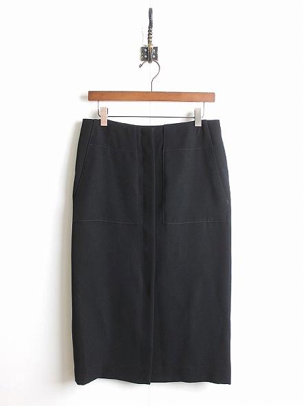前開きタイトスカート