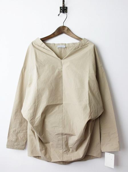 FIGARO japon25周年コラボ コットンリネンプルオーバーシャツ