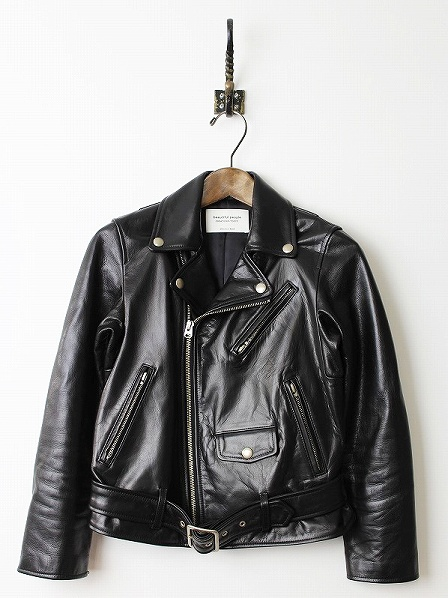 COW HIDE LEATHER RIDERS JACKET