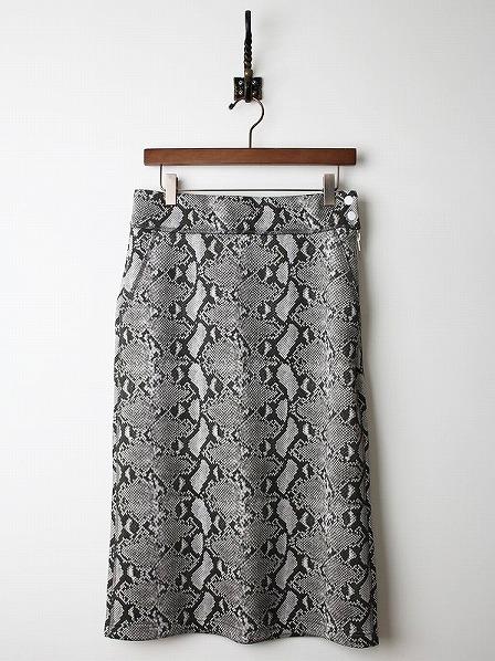 パイソン スカート