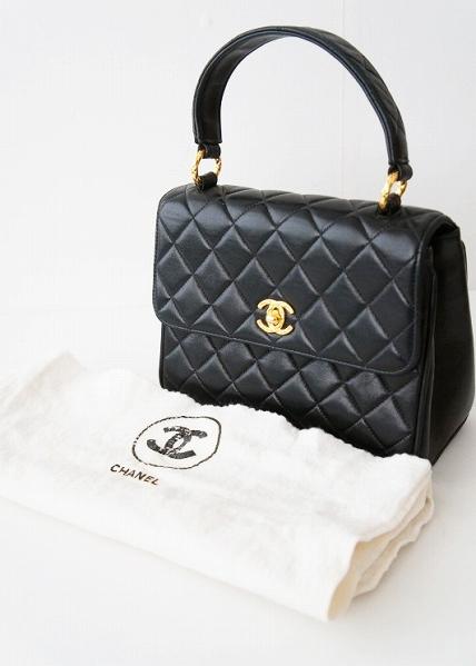 マトラッセ ケリー型 ハンドバッグ