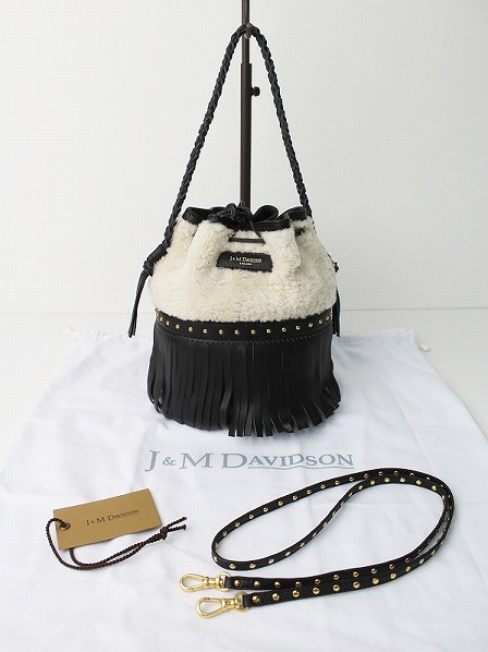 CARNIVAL M WITH STUDS STRAP BAG