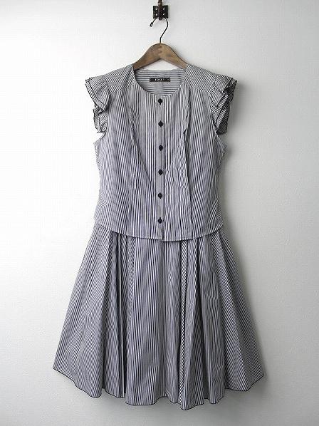 TWO WAY ストライプ サマードレス ワンピース