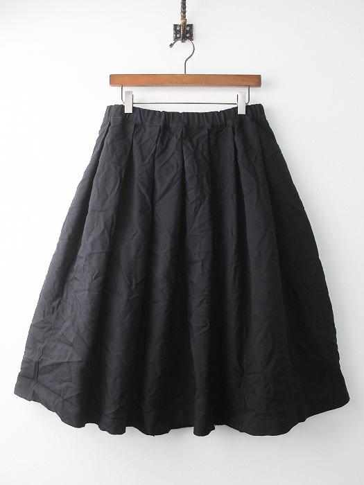 ポリ縮絨 フレア スカート
