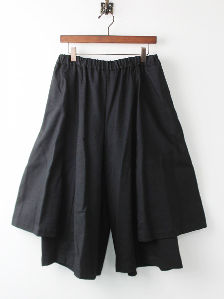 RR-P019 layered pleated culottes