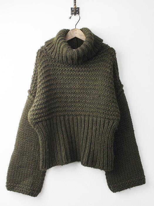 GAJA オーバーサイズ ローゲージニット セーター