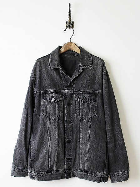 DAZE OVERSIZED JACKET GREY AGED