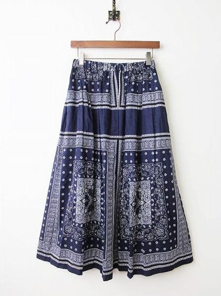 バンダナプリントスカート
