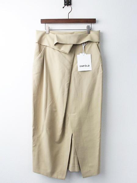 300AS231-2880 ハイウェスト ラップ スカート