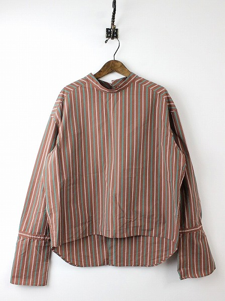 STRIPE LONG CUFFS SHIRTS