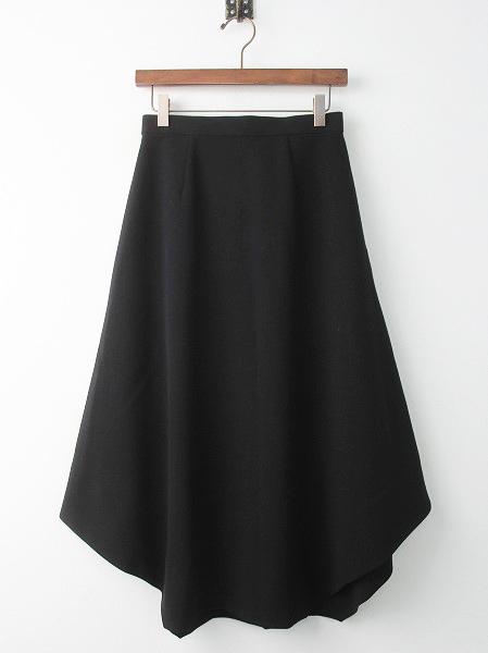 300BS131-0240 ダブルクロス ヘムラインスカート