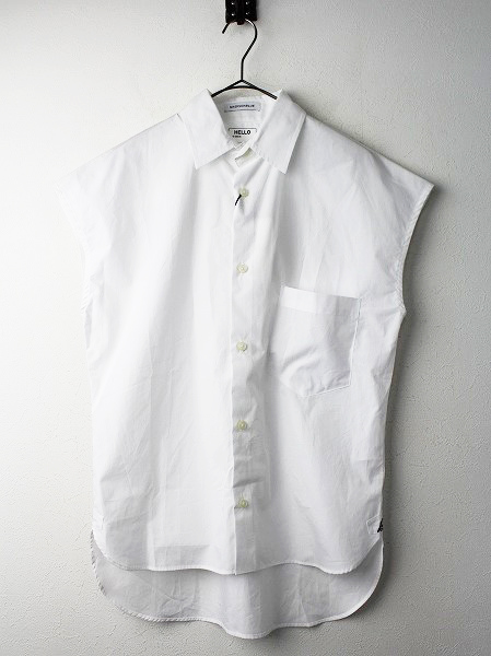 MADISON BLUE SLEEVELESS J. BRADLEY SHIRT フレンチスリーブ シャツ