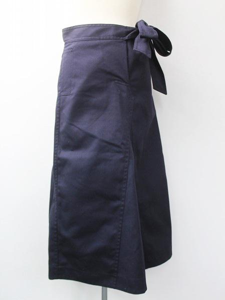 ウエストリボン ロング スカート
