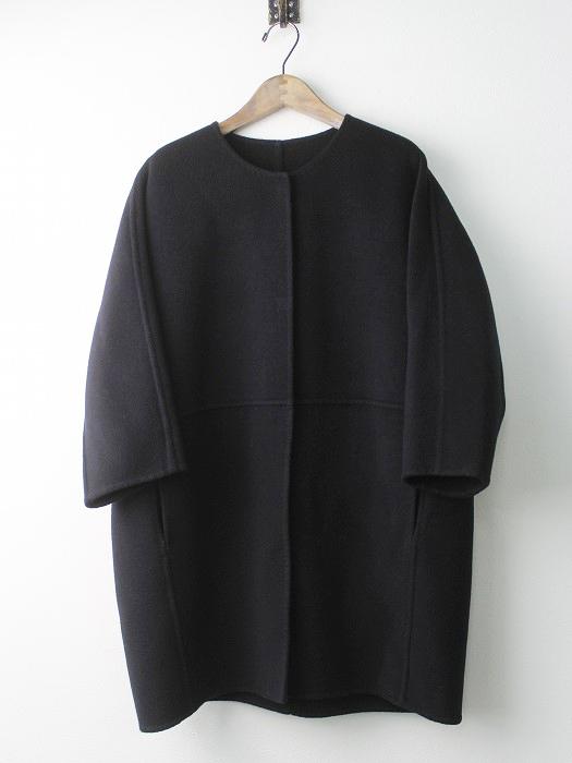 17020500404030 Victorian リバー ノーカラー コート