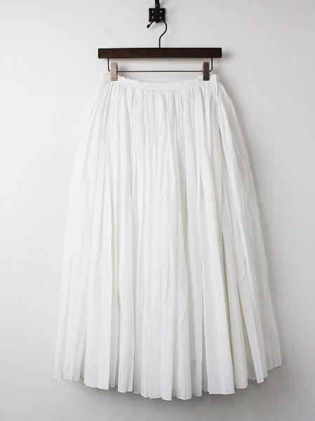 プリーツ スカート