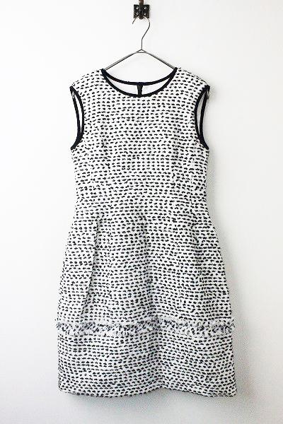 36047 ドレス Dacquoise サマー ツイード ワンピース