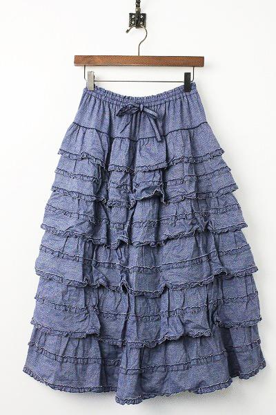 La Vie en Rose ダンガリー スカート