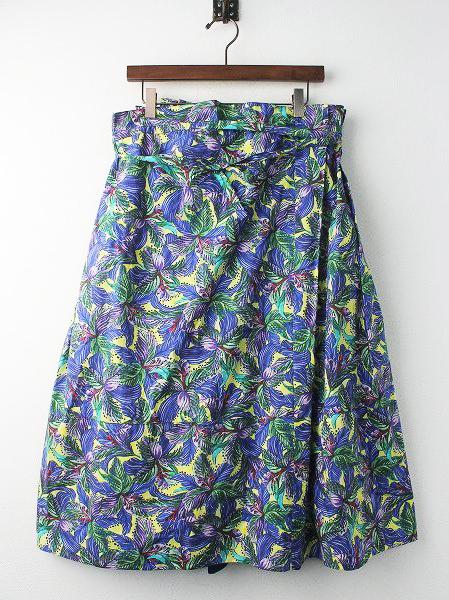 RESORT フラワープリント スカート