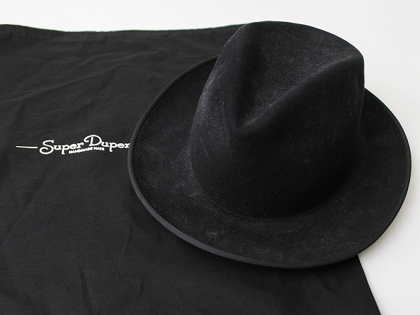 SUPER DUPER HAT Mens brimmed Hat