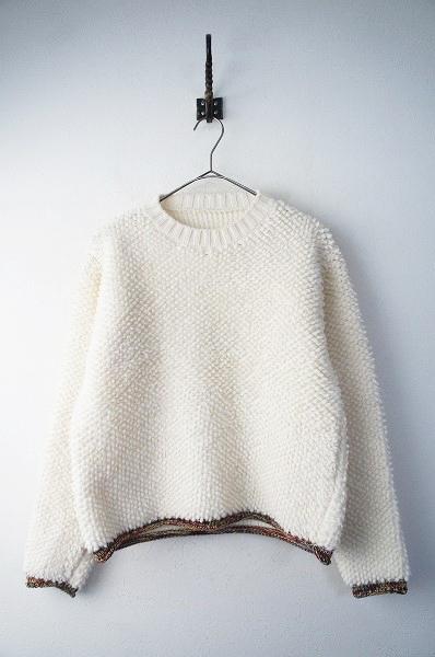 ウール クルーネックセーター