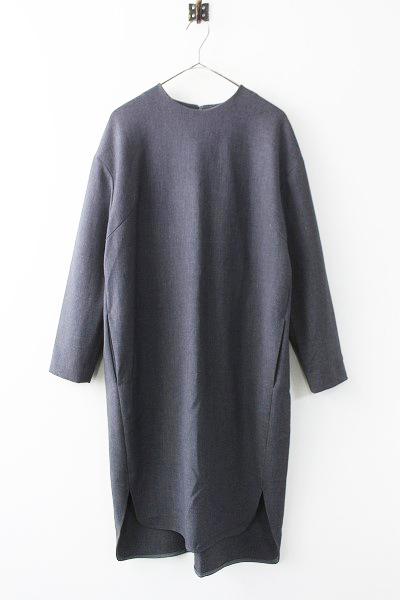 BOXY DRESS ストレッチ コクーン ワンピース
