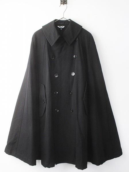 2012AW ポンチョ型 ビック シルエット コート