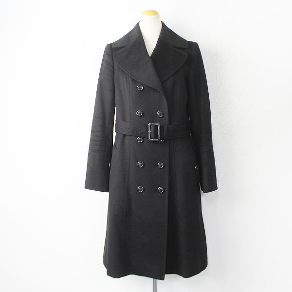 ウール カシミヤ ドレス ピーコート